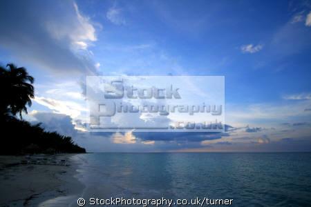 sunset shot taken island cuba called cayo la visa. sunsets dusk travel caribbean beautiful oceans cuban