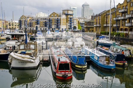 limehouse docks canal boats marine misc. business commerce dock yachts sailing basin flats apartments housing house buildings canaty whaarf tower hamlets london cockney england english great britain united kingdom british
