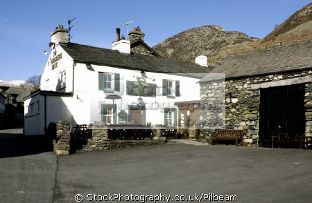 travellers rest pub glenridding serves good food lake district north west northwest england english uk public house cumbria cumbrian great britain united kingdom british