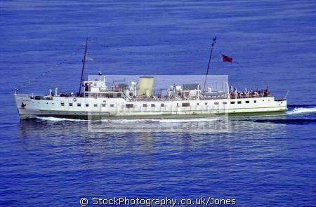mv balmoral ferry ilfracombe lundy isle transport transportation uk service bristol channel severn estuary devon exmoor boat ship devonian england english great britain united kingdom british