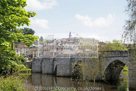 limoges pont st etienne. french landscapes european travel limousin haute feytiat pottery porcelaine bridge ancient mediaeval haute-vienne haute vienne hautevienne france la francia frankreich europe