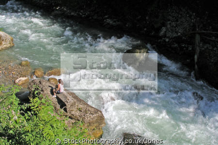 river dranse morzine french alps landscapes european travel mountain stream turquoise clear rapids white-water white water whitewater valley gorges alpine rhône-alpes rhône alpes rhônealpes france la francia frankreich europe