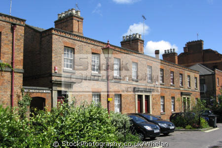 railway cottages derby uk terraced houses british housing homes dwellings abode architecture architectural buildings derbyshire england english great britain united kingdom