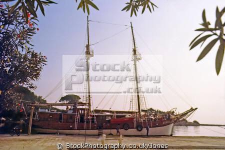 motor yacht agena port gaios island paxos yachts yachting sailing sailboats boats marine misc. ionian schooner caique greek greece europe european