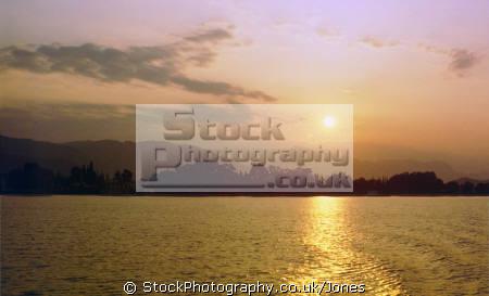 sunset saronic gulf looking aegina angistri greek european travel athens poros island isle sea twilight evening aegean greece europe