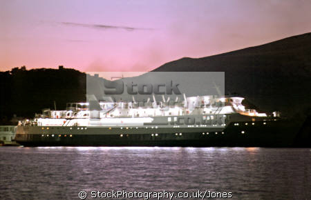 early morning ferry leaves port vathi greek island ithaca european travel odysseus homer kefalonia ithaki ionian greece isle europe