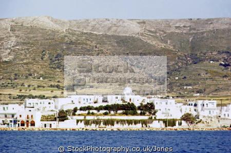 parikía island paros greece greek european travel harbour port aegean sea cyclades europe