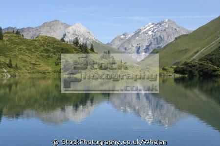 trubsee mount titlis swiss suisse european travel alps mountain lake switzerland schweiz europe
