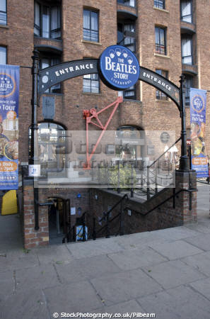 beatles sorey museum albert dock liverpool uk museums british architecture architectural buildings fab mersey music 60s merseyside scouse england english great britain united kingdom