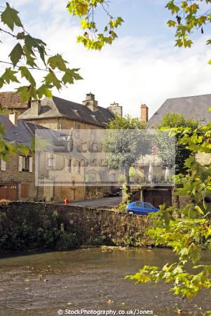 segur-le-chateau segur le chateau segurlechateau limousin french landscapes european travel les plus beaux villages france river auvezere auvézère correze la francia frankreich europe