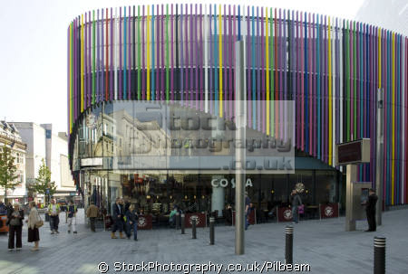 large costa coffee liverpool shopping complex people eating mastication nutrition ingestion digestion meals food human activities persons shops late pavement merseyside scouse england english great britain united kingdom british