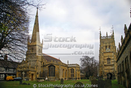evesham abbey gardens saints church bell tower uk abbeys churches worship religion christian british architecture architectural buildings parish steeple spire gothic worcestershire england english great britain united kingdom