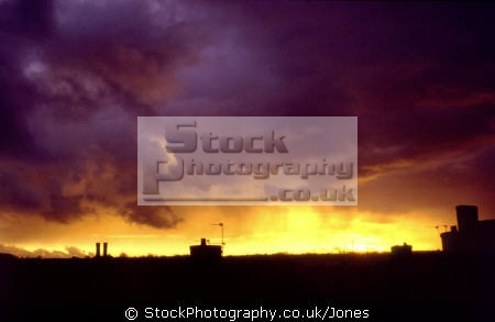 angry sunset kingsley staffordshire february. sky natural history nature misc. weather meteorology shepherd delight twilight evening turbulent dramatic staffs england english great britain united kingdom british