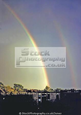 nice double rainbow minneapolis usa sky natural history nature misc. spectrum weather meteorology shower sunshine rain squall minnesota united states america american