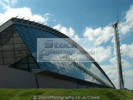 glasgow science centre observation tower.scotland tower scotland towerscotland uk commercial buildings retailers british architecture architectural britains tallest free standing struture central scotland scottish scotch scots escocia schottland great britain united kingdom