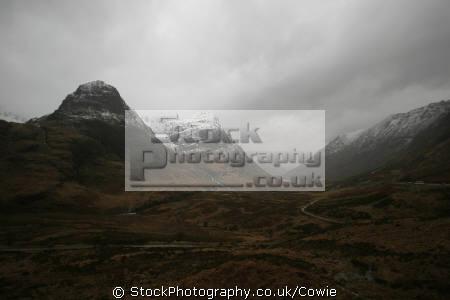 glencoe winter mountains countryside rural environmental uk highlands islands scotland scottish scotch scots escocia schottland great britain united kingdom british