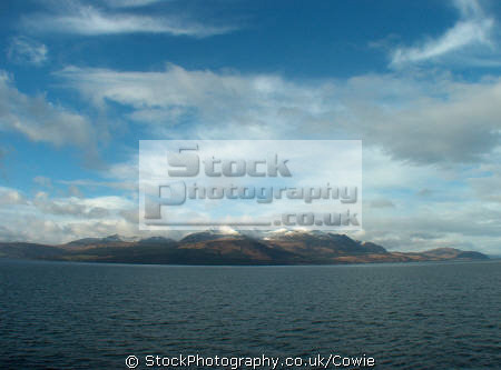 looking arran winter time mountains countryside rural environmental uk island isle highlands islands scotland scottish scotch scots escocia schottland great britain united kingdom british