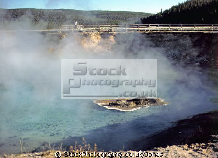 excelsior geyser crater yellowstone national park usa. volcanic volcanoes geology geological science misc. hydrothermal hot springs caldera magma vulcanism wyoming usa united states america american
