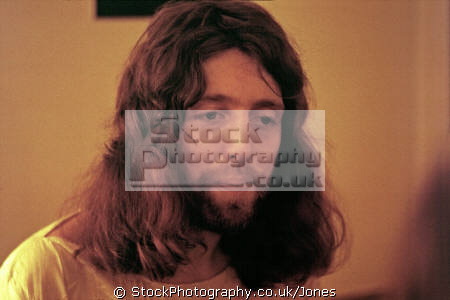rock star music producer steve hillage 1976. musicians celebrities celebrity fame famous people persons gong motivation radio fish rising musician guitarist bedfordshire beds england english great britain united kingdom british