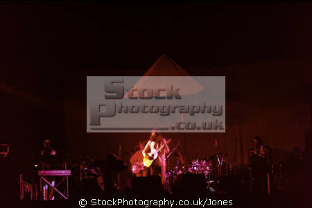 steve hillage band performing dunstable civic centre 1976. rock bands roll pop stars celebrities celebrity fame famous star people persons motivation radio fish rising musician guitarist ellipse concert venue performance bedfordshire beds england english great britain united kingdom british