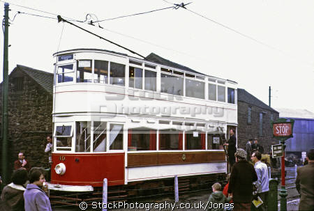 old tram crich tramway museum derbyshire trams streetcar travel public transport tramlines england english great britain united kingdom british