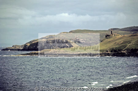 duntulm castle isle skye scottish castles british architecture architectural buildings uk celtic scotland coastal headland eilean sgitheanach highlands islands scotch scots escocia schottland great britain united kingdom
