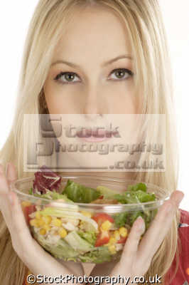 salad bowl healthy eating nutrition balanced diet human activities people persons mixed healthfood