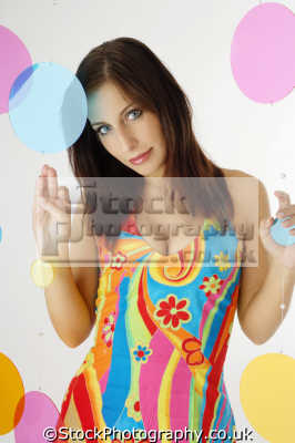 psychedelic dress fashion haute couture chic designer people persons floral