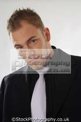 young man balding males masculine manlike manly manful virile mannish people persons goatee chin strap