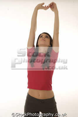 stretching girl physical exercise athletic aerobic anaerobic health fitness people persons