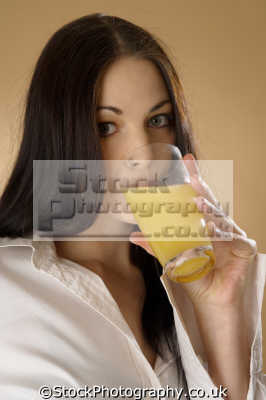 drinking juice people eating nutrition human activities persons orange