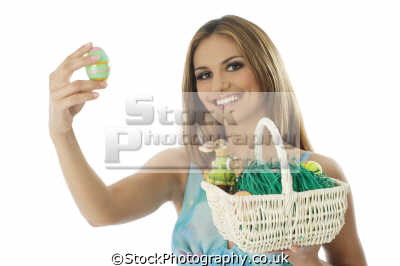 easter egg women woman female females feminine womanlike womanly womanish effeminate ladylike people persons bunny