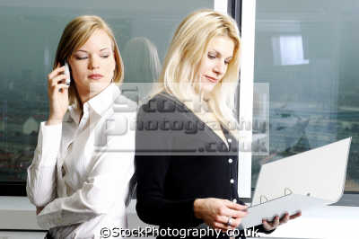 female competition work people office business