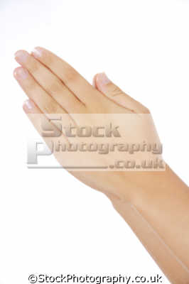 praying hands hand gestures non-verbal non verbal nonverbal communication body language people persons