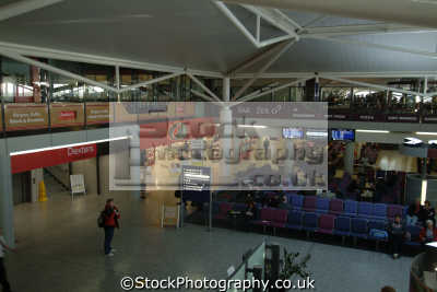 bristol airport main passenger terminal interior air uk airports aviation airfield aircraft transport transportation avon england english great britain united kingdom british