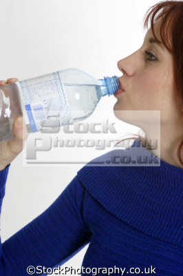 drinking bottled water people eating nutrition human activities persons