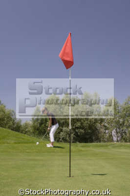 flag golf golfing sports sporting uk