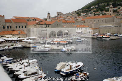 harbour dubrovnik european travel croatia republika hrvatska europe croatian