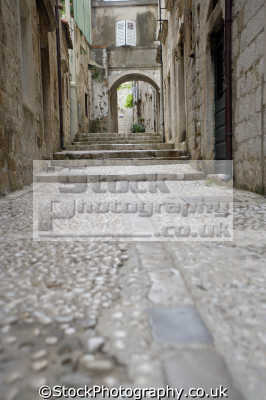 street dubrovnik european travel croatia republika hrvatska europe croatian