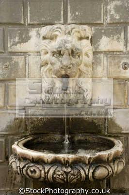 lion fountain dubrovnik european travel croatia republika hrvatska europe croatian