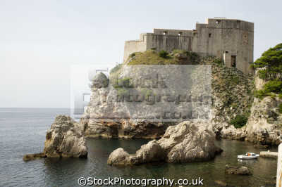 fort dubrovnik european travel croatia republika hrvatska europe croatian