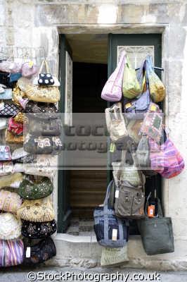 bag shop dubrovnik european travel croatia republika hrvatska europe croatian