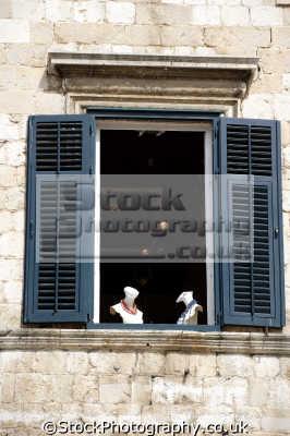 window dubrovnik european travel croatia republika hrvatska europe croatian