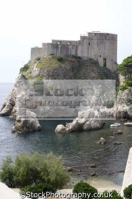 fort mediterranean dubrovnik european travel croatia republika hrvatska europe croatian