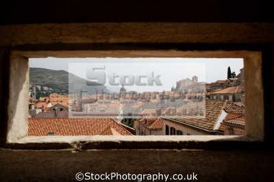 rooftops city dubrovnik european travel croatia republika hrvatska europe croatian