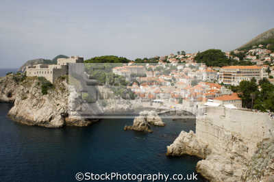 harbour town dubrovnik european travel croatia republika hrvatska europe croatian