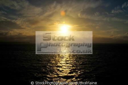 sunset solent uk sunsets dusk travel sea light isle wight england english great britain united kingdom british