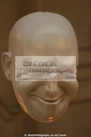 floating heads kelvingrove museum art galleries. glasgow. scotland misc. glasgow central scottish scotch scots escocia schottland great britain united kingdom british