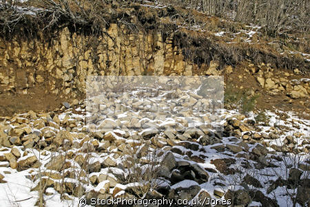erosion basalt columns volcanic volcanoes geology geological science misc. volcans auvergne parc regional naturel monts-dore monts dore montsdore winter snowy col guéry mountains france la francia frankreich europe european french