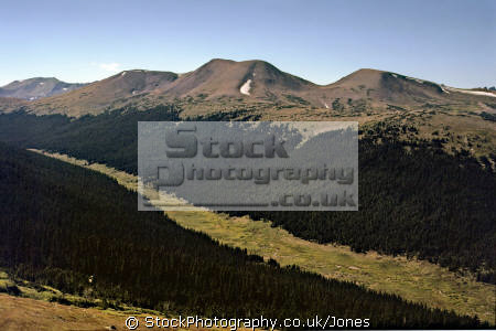 rocky mountain national park colorado river valley wilderness natural history nature misc. head waters tundra np tree-line tree line treeline great continental divide alpine usa united states america american
